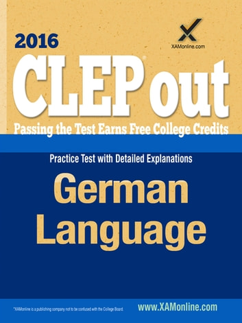 CLEP German ebook by Sharon A Wynne
