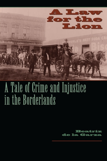 A Law for the Lion - A Tale of Crime and Injustice in the Borderlands ebook by Beatriz de la Garza