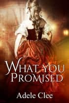 What You Promised ebook by Adele Clee