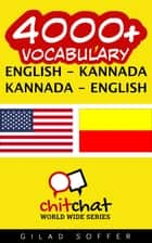 4000+ Vocabulary English - Kannada ebook by Gilad Soffer