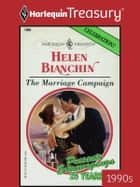 The Marriage Campaign ebook by Helen Bianchin