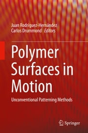 Polymer Surfaces in Motion - Unconventional Patterning Methods ebook by Juan Rodríguez-Hernández,Carlos Drummond