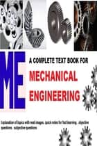 COMPLETE TEXT BOOK FOR MECHANICAL ENGINEERING ebook by saurabh kumar