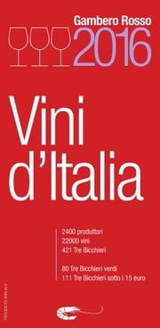 Vini d'Italia 2016 ebook by aa.vv