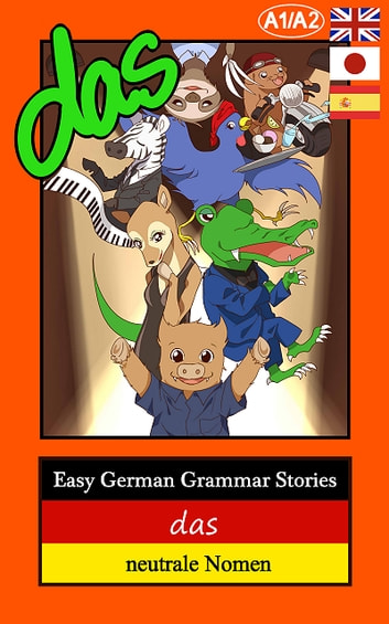 Easy German Grammar Stories ebook by Thomas Gerstmann
