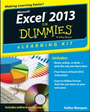 Excel 2013 eLearning Kit For Dummies ebook by Faithe Wempen