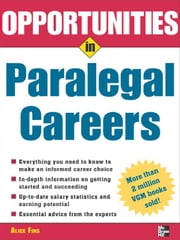 Opportunities in Paralegal Careers ebook by Fins, Alice