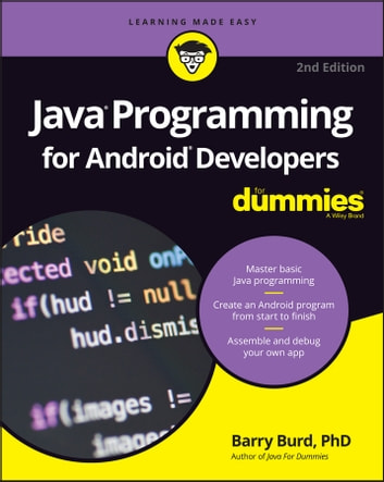 Java Programming For Android Developers For Dummies Ebook By Barry A