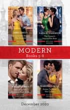 Modern Box Set 5-8 Dec 2020/The Innocent Behind the Scandal/The Queen's Impossible Boss/Bound as His Business-Deal Bride/Stolen to Wear His Cro ebook by ABBY GREEN, Natalie Anderson, Kali Anthony,...