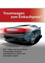 Traumwagen zum Einkaufspreis ebook by Kobo.Web.Store.Products.Fields.ContributorFieldViewModel