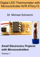 Digital LED Thermometer with Microcontroller AVR ATtiny13 ebook by Michael Schramm