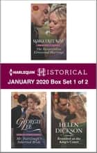 Harlequin Historical January 2020 - Box Set 1 of 2 ebook by Marguerite Kaye, Georgie Lee, Helen Dickson