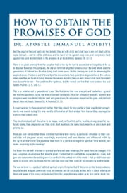 How to Obtain the Promises of God ebook by Dr. Apostle Emmanuel Adebiyi