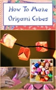 How To Make Origami Cubes