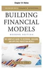 Building Financial Models - Ratios ebook by John Tjia