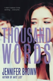 Thousand Words ebook by Jennifer Brown
