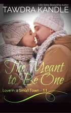 The Meant To Be One - A Love in a Small Town Novella ebook by Tawdra Kandle