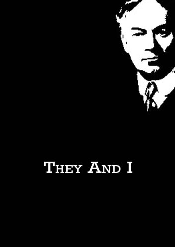 They And I ebook by Jerome K. Jerome