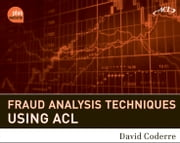 Fraud Analysis Techniques Using ACL ebook by David Coderre